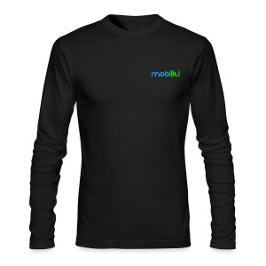 Mobiliti logo long sleeve Performance Tee - Men's Long Sleeve T-Shirt by Next Level