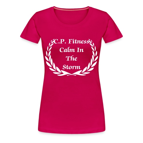Calm In The Storm Women's Tee - Women's Premium T-Shirt