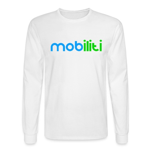Mobiliti logo long sleeve Tee - Men's Long Sleeve T-Shirt