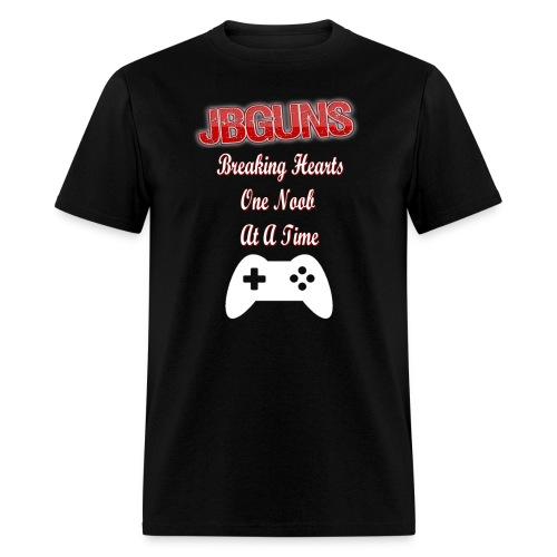 jBGuns Breaking Hearts T-Shirt - Men's T-Shirt