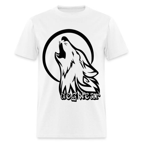 Wolf Howling T-Shirt - Men's T-Shirt
