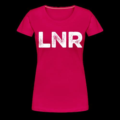 LNR LOGO - WOMEN'S PREMIUM TEE - Women's Premium T-Shirt