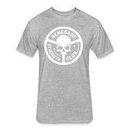 T-Shirts ~ Fitted Cotton/Poly T-Shirt by Next Level ~ Grey Renegade Tri-Blend T-Shirt
