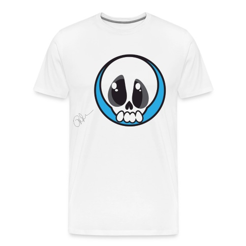 Skull Ghost - Men's Premium T-Shirt