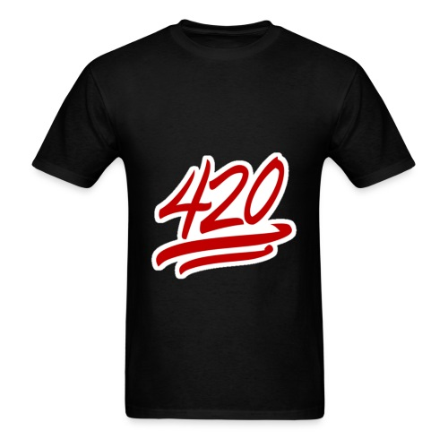 420 Emoji  - Men's T-Shirt