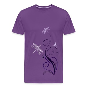 South Seas Tribal Dragonfly Men's Premium T-Shirt - Men's Premium T-Shirt