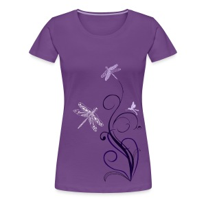 South Seas Tribal Dragonfly Women's Premium T-Shirt - Women's Premium T-Shirt