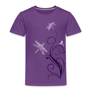 South Seas Tribal Dragonfly Toddler Premium T-Shirt - Toddler Premium T-Shirt