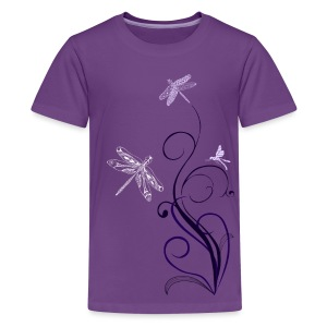 South Seas Tribal Dragonfly Kids Premium T-Shirt - Kids' Premium T-Shirt