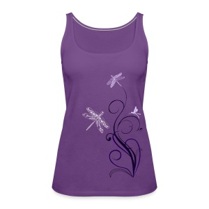 South Seas Tribal Dragonfly Women's Premium Tank Top - Women's Premium Tank Top