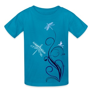 South Seas Tribal Dragonfly Kids T-Shirt - Kids' T-Shirt