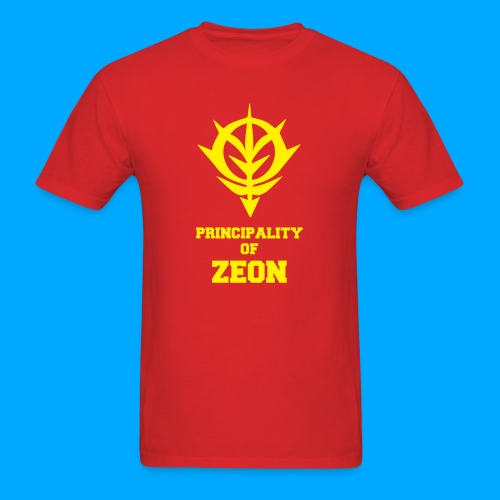 PRINCIPALITY OF Zeon - Men's T-Shirt