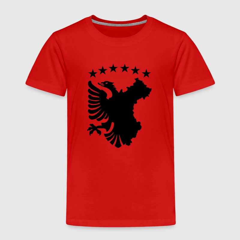 Albanian Autochthonous Flag Baby & Toddler Shirts - Toddler Premium T-Shirt