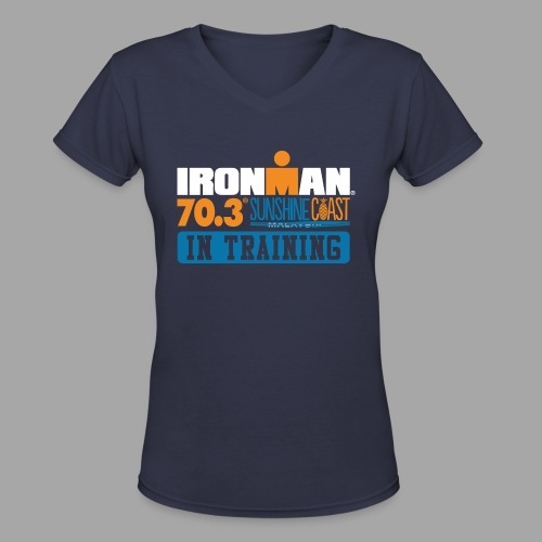 70.3 Sunshine Coast Women's V-Neck T-shirt - Women's V-Neck T-Shirt
