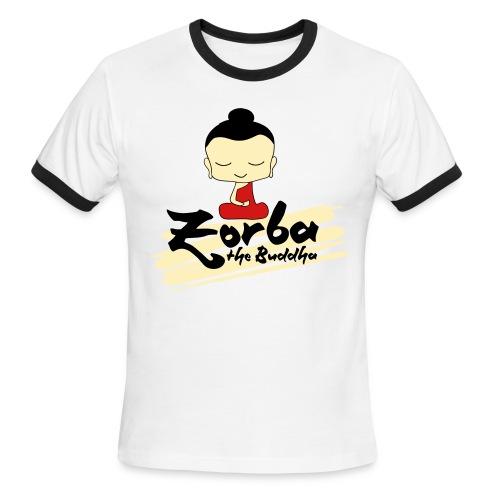 Osho Zorba T-shirt for Men - Men's Ringer T-Shirt