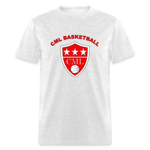 Men's CML Basketball Grey T-Shirt - Men's T-Shirt