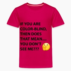DO YOU NOT SEE ME TEE Kids' Shirts