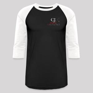 Men's Baseball T-Shirt C.J. PINARD LOGO Black and White - Baseball T-Shirt