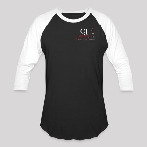 Men's Baseball T-Shirt C.J. PINARD LOGO Black and White - Baseball T-Shirt