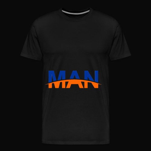 Man Men T-Shirt - Men's Premium T-Shirt