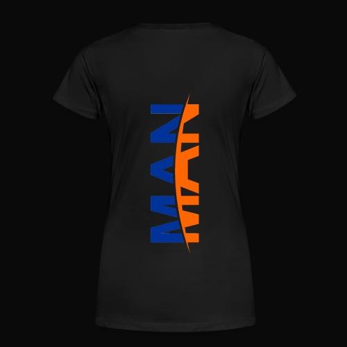 Man Women T-Shirt - Women's Premium T-Shirt