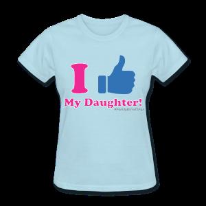 ThumbsUp! Daughter Womens T-Shirt - Women's T-Shirt
