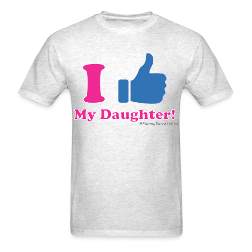 ThumbsUp! Daughter Mens T-Shirt - Men's T-Shirt
