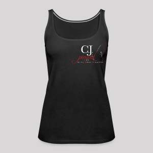Women's Premium Tank Top C.J. PINARD LOGO Black - Women's Premium Tank Top