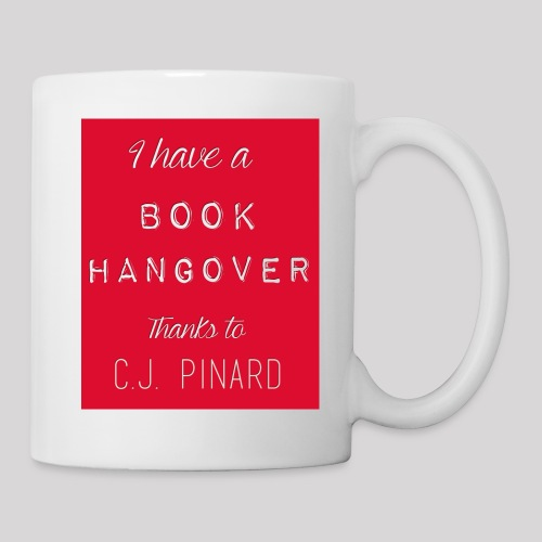 White Ceramic Mug I HAVE A BOOK HANGOVER Red - Coffee/Tea Mug