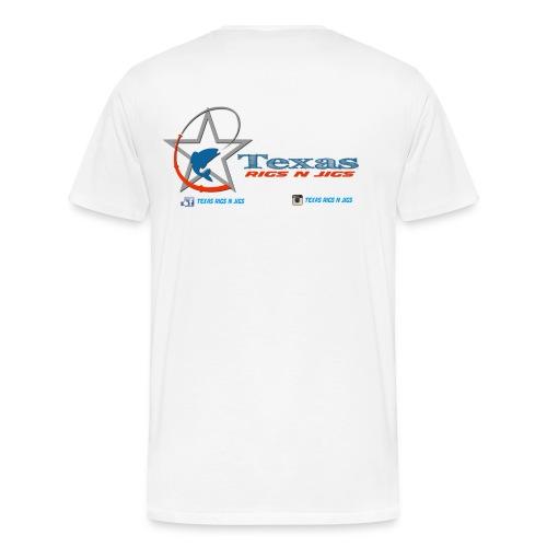 Texas Rigs N Jigs Men's T-Shirt - Men's Premium T-Shirt