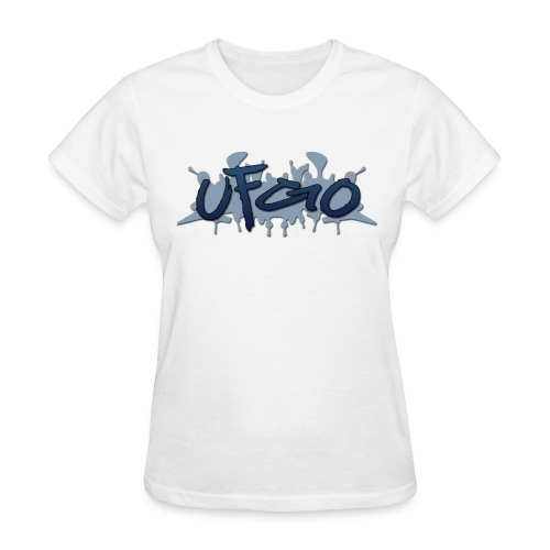 UFGO Graffiti (Blue) - Women's T-Shirt