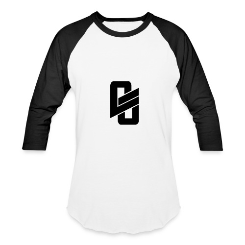 Black Long Shirt w/ Logo - Baseball T-Shirt