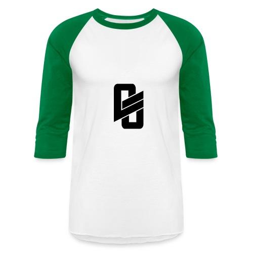 Green Long Shirt w/ Logo - Baseball T-Shirt