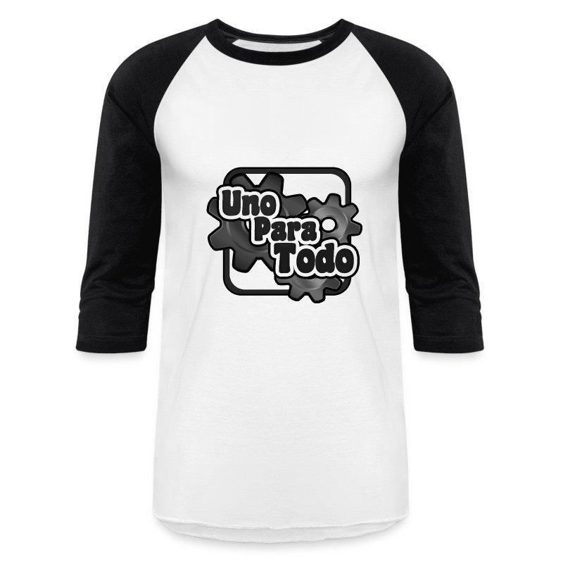 logo byn.png - Baseball T-Shirt