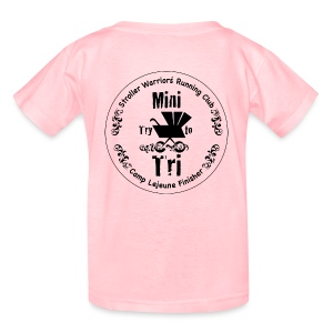 Kids Pink Mini Try to Tri Tee - Kids' T-Shirt