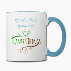 Get the Day Growing (Blue Mug)