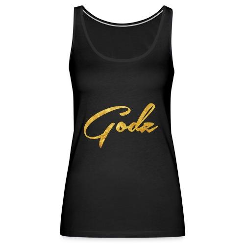 Godz Tank (BLACK) - Women's Premium Tank Top