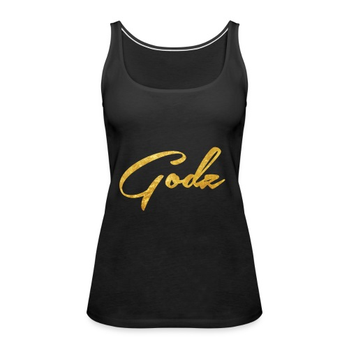 Godz Tank (BLACK) - Women's Premium Tank Top