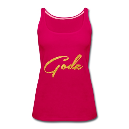 Godz Tank (PINK) - Women's Premium Tank Top