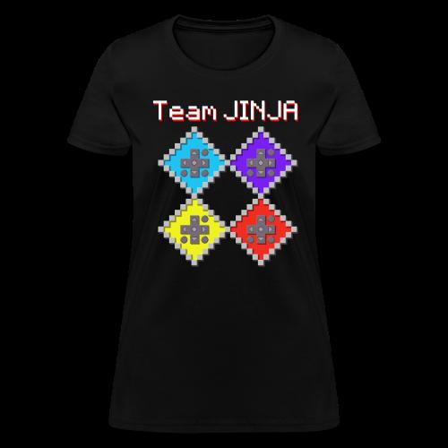 JINJA Stones - Team JINJA (Baby Doll) - Women's T-Shirt