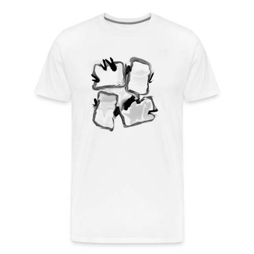 INK 4 Packet Display - Men's Premium T-Shirt