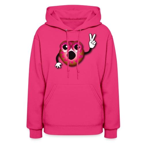 Pink Jelly Donut - Japan Hoodie - Women's Hoodie