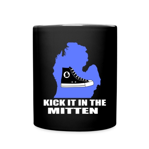 Kick It In The Mitten Coffee Mug - Full Color Mug