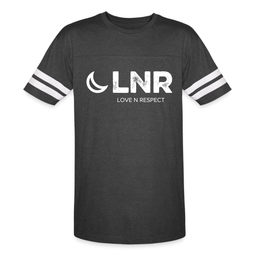 LOVE N RESPECT LOGO - UNISEX VINTAGE SPORT TEE - Vintage Sport T-Shirt