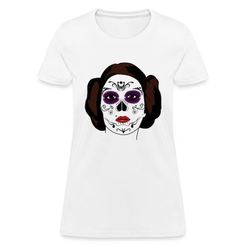 Princess sugar skull - Women's T-Shirt