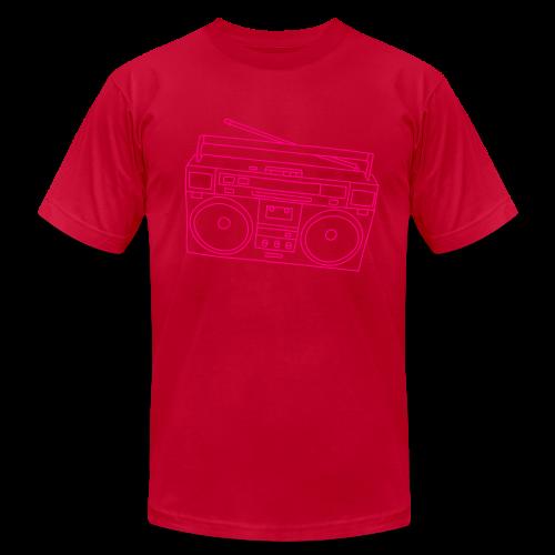 Boombox - Men's Fine Jersey T-Shirt