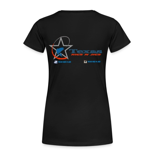 Texas Rigs N Jigs Woman's T-Shirt - Women's Premium T-Shirt
