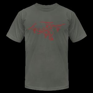 Drone (UAS) - Men's Fine Jersey T-Shirt