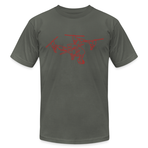 Drone (UAS) - Men's  Jersey T-Shirt