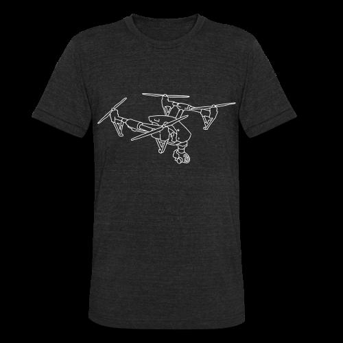 Drone (UAS) - Unisex Tri-Blend T-Shirt